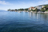 Mediterranean city Opatija Seascape — Stock Photo
