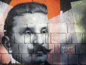 Rikard Katalinic Jeretov Graffiti — Stock Photo
