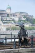 Little Princess Statue Budapest Hungary — Stock Photo