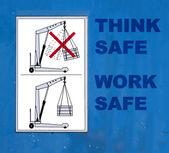 Bezpieczeństwo w pracy — Zdjęcie stockowe