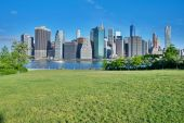 Manhattan New York City Skyline — Stock Photo