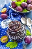 Confiture de prune — Photo