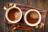 Warme cacao drank — Stockfoto