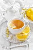 Tè al limone — Foto Stock