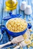 Syrové těstoviny — Stock fotografie