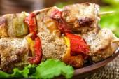 ケバブと野菜 — ストック写真