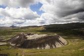 Extinct volcano — Stock Photo