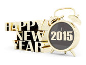 Happy new year 2015 Illustrations 3d — Stock Photo
