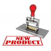 Yeni ürün güzel damga — Stok fotoğraf
