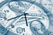 Tid är pengar koncept — Stockfoto