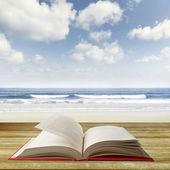 Open book — Stock Photo