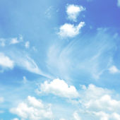Whites clouds in sky — Stock Photo