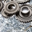Loose steel parts — Stock Photo #62116315