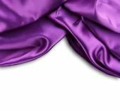 фиолетовый шелк — Стоковое фото