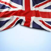 Union Jack flag — Fotografia Stock