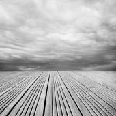 Plancher et ciel — Photo