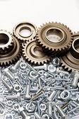 Steel parts — Stock Photo