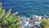 Vista para o mar — Fotografia Stock