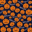 Seamless Halloween background — Stock Vector #51871951