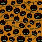 Seamless Halloween background — Stock Vector
