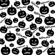 Seamless Halloween background — Stock Vector #51872353