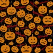 Seamless Halloween background — Stock Vector #51872565