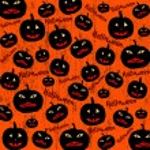Seamless Halloween background — Stock Vector #51872701
