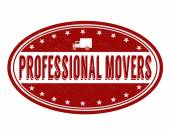 Professional movers stamp — Stock Vector