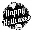 Happy Halloween stamp — Stock Vector #52112741