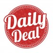 ������, ������: Daily deal stamp