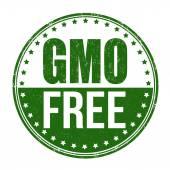 Gmo free stamp — Stock Vector