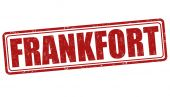 Frankfort stamp — Stock Vector