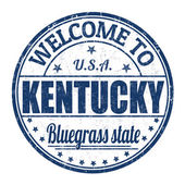 Welcome to Kentucky stamp — Stok Vektör