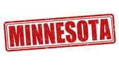 Minnesota stamp — Stock Vector