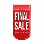 Final sale banner design — Stock Vector