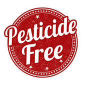 Pesticide free stamp — Stock Vector