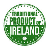 Traditional product of Ireland stamp — Stock Vector