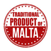 Traditional product of Malta stamp — Vetorial Stock
