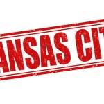 Kansas City stamp — Stock Vector