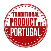 Traditional product of Portugal stamp — Stockvektor