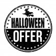 Halloween offer stamp — Stock Vector #55756627