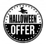 Halloween offer stamp — Stock Vector #55756627