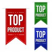 Top product banners — Stock Vector