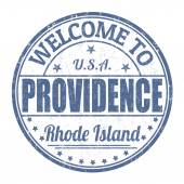 Welcome to Providence stamp — Vecteur