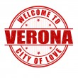 Welcome to Verona stamp — Stock Vector #57404477