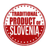 Traditional product of Slovenia stamp — Vetorial Stock