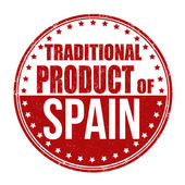 Traditional product of Spain stamp — Vecteur