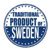 Traditional product of Sweden stamp — Vetorial Stock