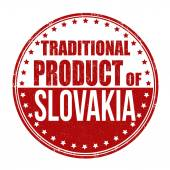Traditional product of Slovakia stamp — Vetorial Stock