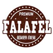 Falafel stamp — Stock Vector